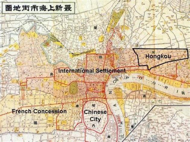 Shanghai um 1940