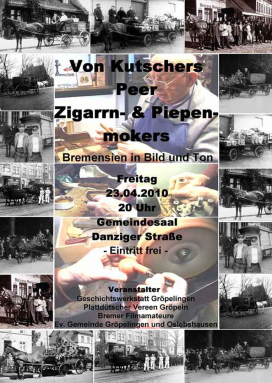 Plakat Kutschers un Lootsen