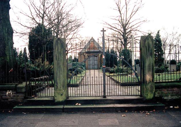 Der Gröpelinger Friedhof um 1995