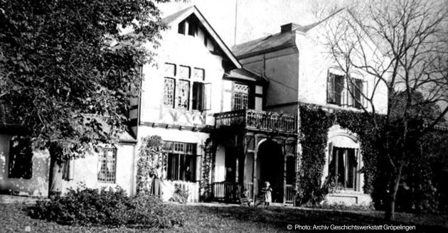 1892 Landgut Tölken an der Gröpelinger Chaussee 20-22