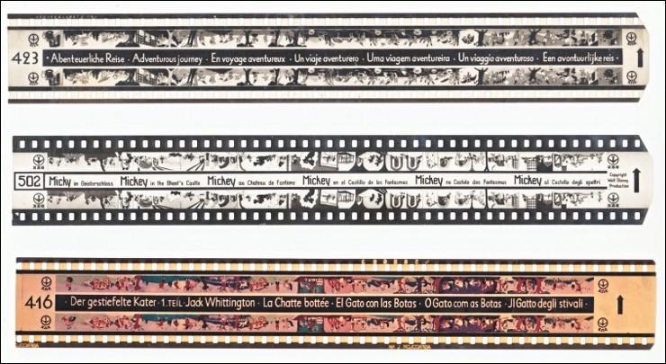 DUX-Filmstreifen der Geschichtswerkstatt aus dem Jahr 1954