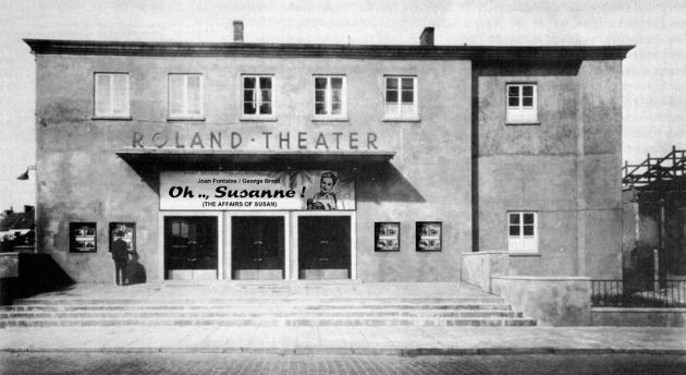 Eröffnung des Roland-Theaters am 10.09.1948