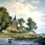 Die alte Nicolai-Kirche um 1700